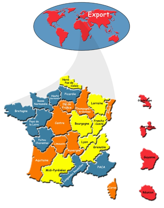 carte des contacts EUROSMART